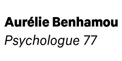 Psychologue 77 - Aurélie Benhamou